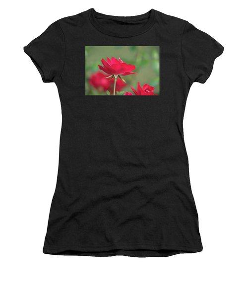 Rose 4 Women's T-Shirt (Athletic Fit)
