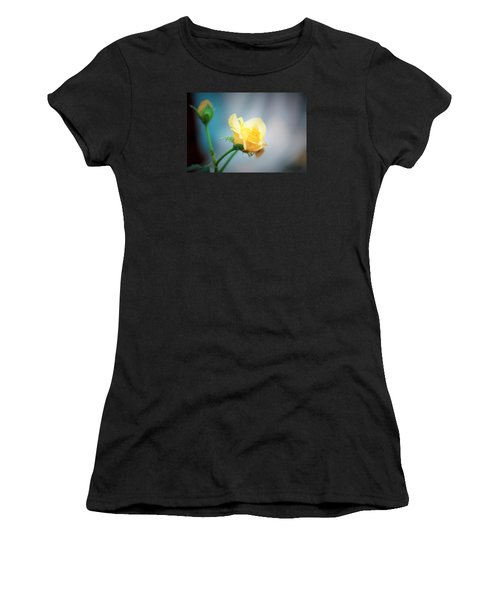 Rose Bling Women's T-Shirt (Athletic Fit)