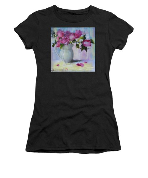 Rose Day Women's T-Shirt (Athletic Fit)