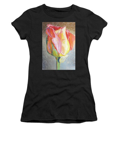 Rose Women's T-Shirt (Athletic Fit)