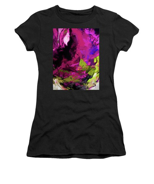 Rose Magenta Women's T-Shirt (Athletic Fit)