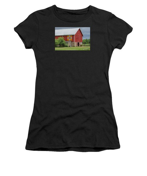 Rose Mosaic   3 Women's T-Shirt (Athletic Fit)