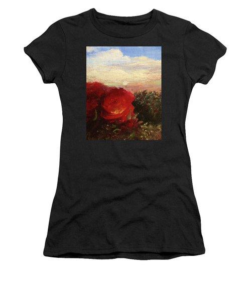 Rosebush Women's T-Shirt (Athletic Fit)