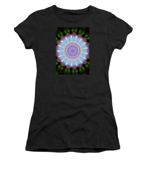 Rosepetals Mandala Women's T-Shirt (Junior Cut) by Mimulux patricia no No
