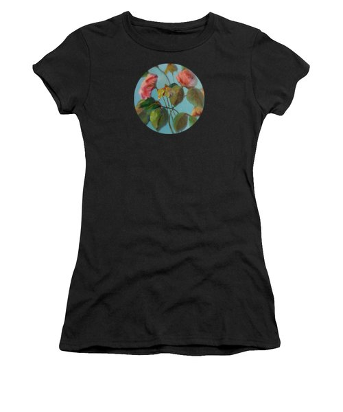 Roses And Wildflowers Women's T-Shirt (Athletic Fit)