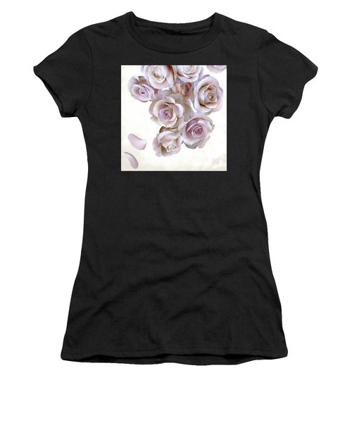 Roses Of Light Women's T-Shirt (Athletic Fit)