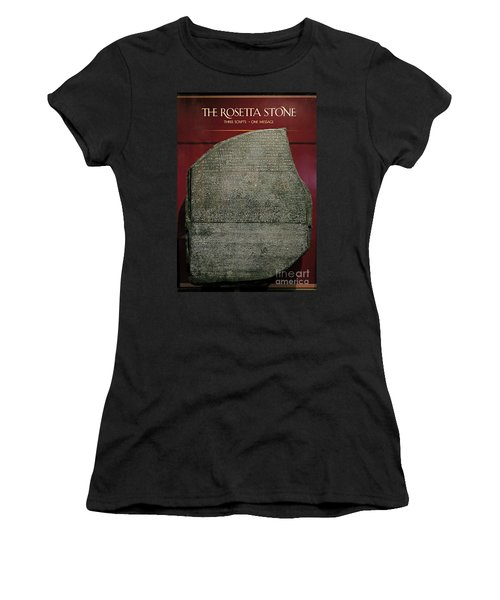Rosetta Stone Replica Women's T-Shirt