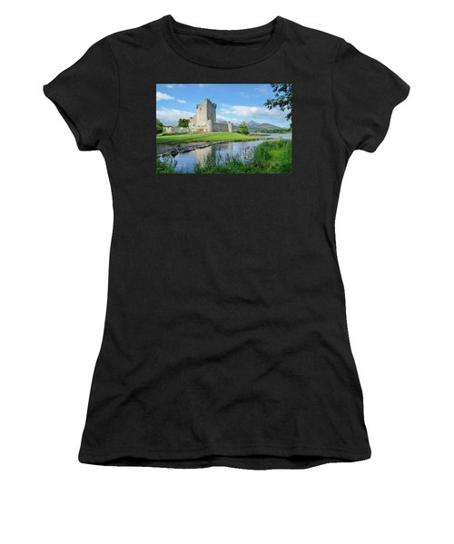 Ross Castle Women's T-Shirt (Athletic Fit)