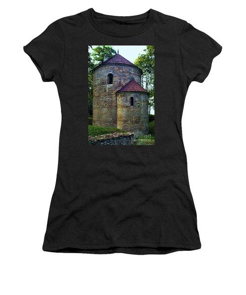 Women's T-Shirt (Junior Cut) featuring the photograph Rotunda  by Mariola Bitner