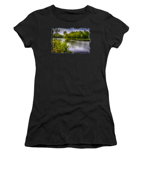 Round The Bend In Oil 36 Women's T-Shirt (Athletic Fit)