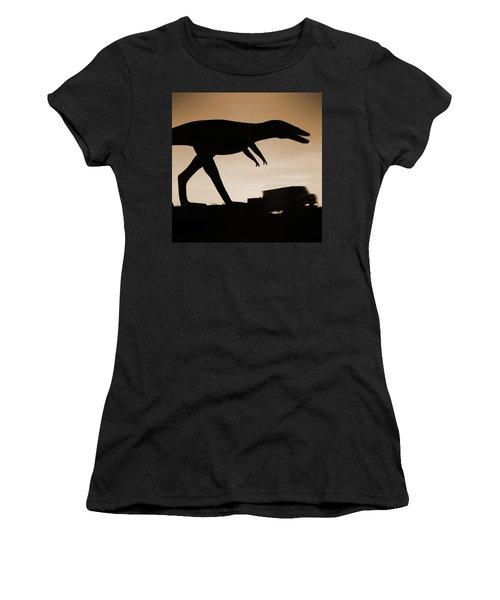 Route 66 - Lost Dinosaur  Women's T-Shirt