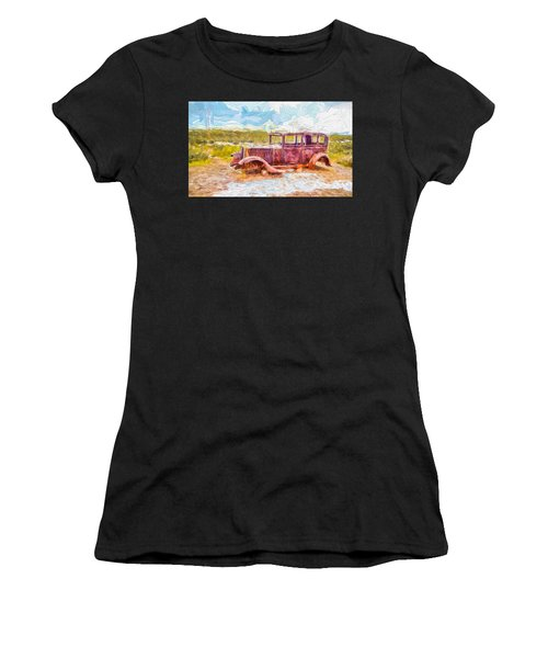 Route 66 Studebaker Women's T-Shirt