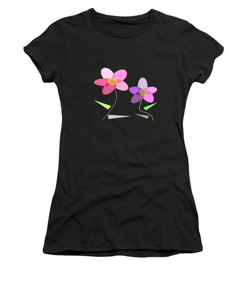 Rows Of Flowers Women's T-Shirt