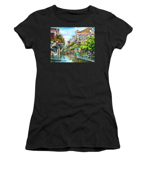 Royal At Pere Antoine Alley, New Orleans French Quarter Women's T-Shirt