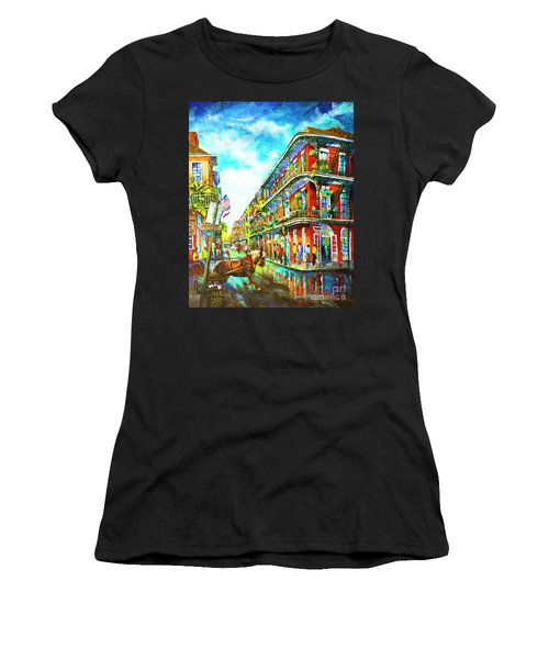 Royal Carriage - New Orleans French Quarter Women's T-Shirt