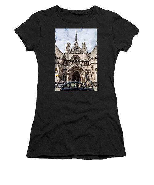 Royal Courts Of Justice In London Women's T-Shirt