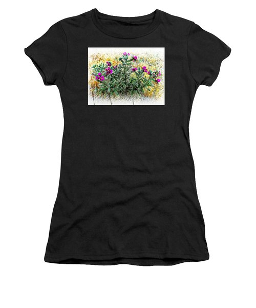 Royal Gorge Cactus With Flowers Women's T-Shirt