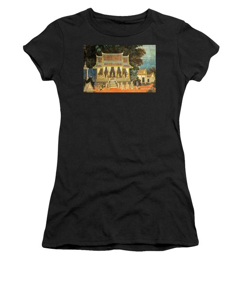Royal Palace Ramayana 18 Women's T-Shirt (Athletic Fit)
