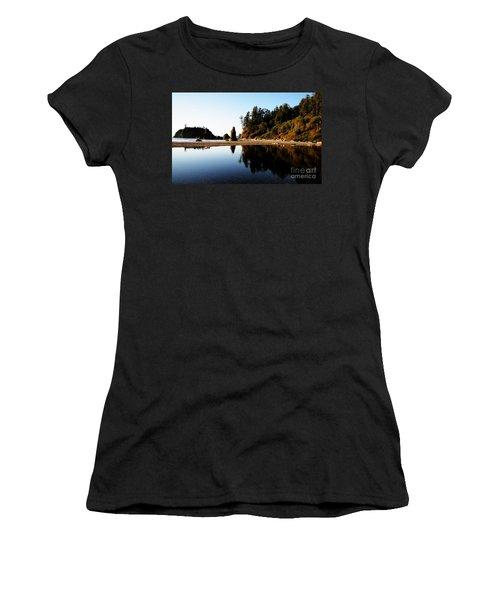 Ruby Beach Reflections Women's T-Shirt (Athletic Fit)