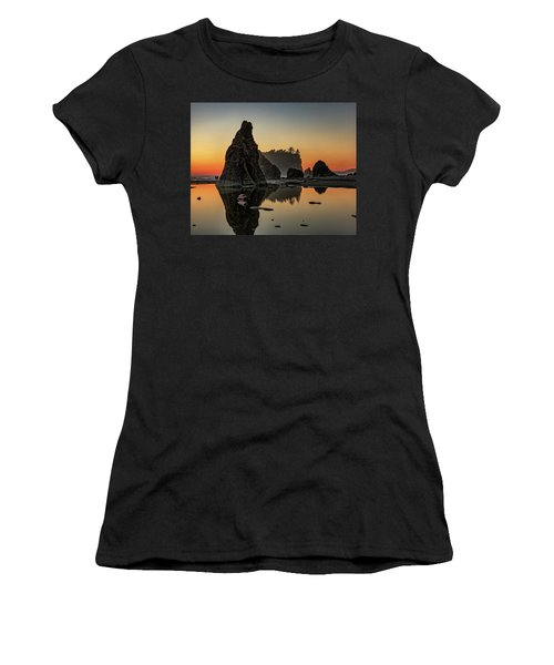 Ruby Beach At Sunset Women's T-Shirt