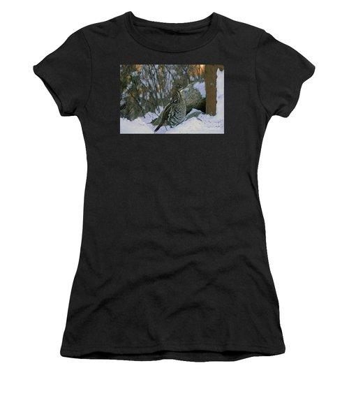 Ruffed Grouse Women's T-Shirt