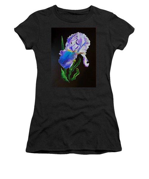 Ruffled Iris Women's T-Shirt