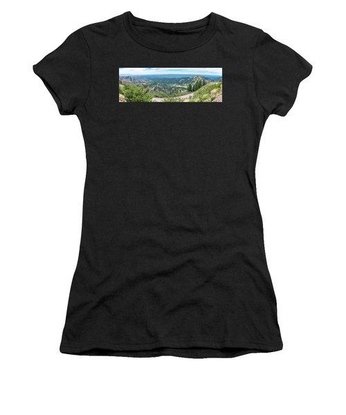 Ruidoso, Nm Panoramic Women's T-Shirt