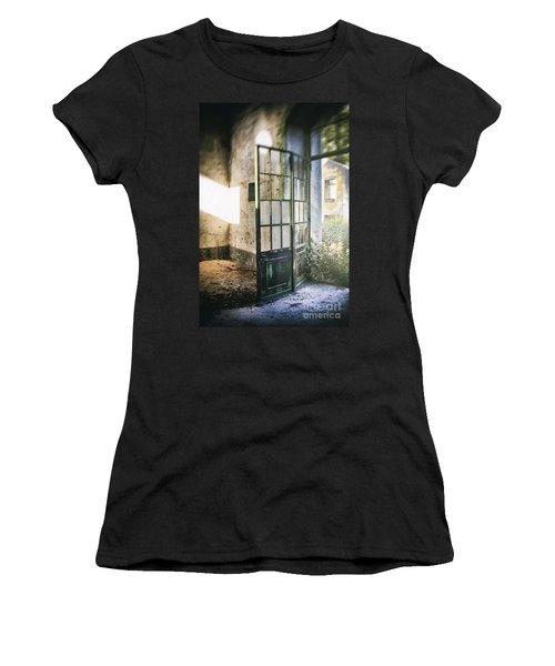 Ruined Door Women's T-Shirt