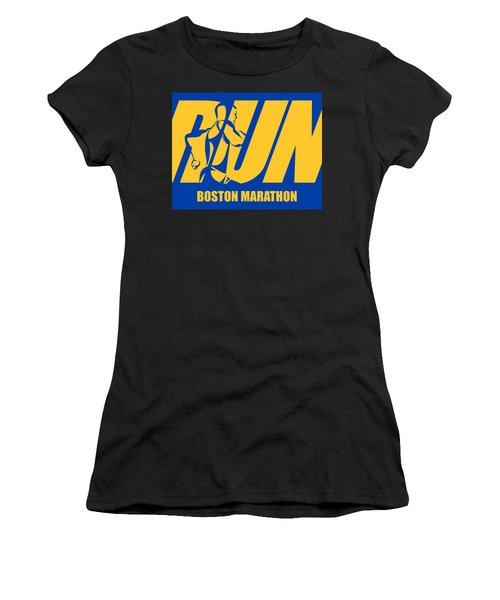 Run Boston Marathon Women's T-Shirt