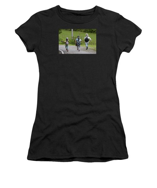 Run Together Women's T-Shirt (Athletic Fit)