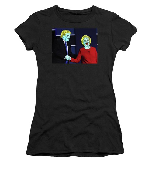 Running Down The Same Cloth. Women's T-Shirt (Athletic Fit)