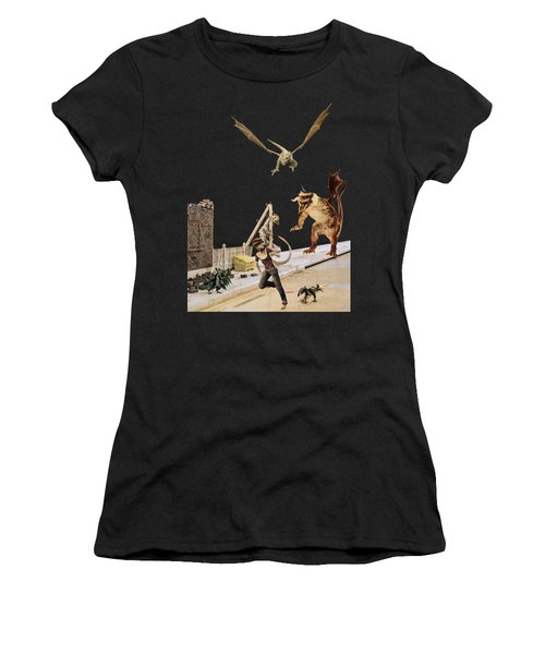 Running From My Problems Women's T-Shirt