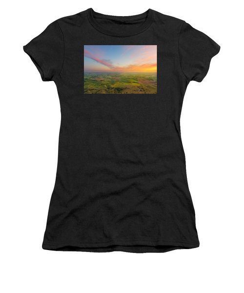 Rural Setting Women's T-Shirt (Athletic Fit)