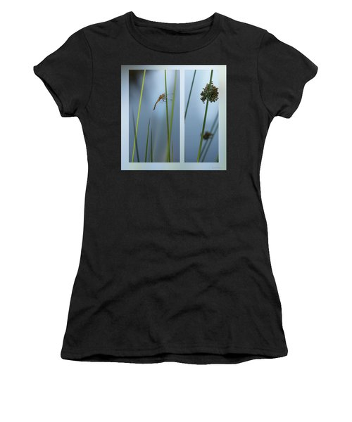 Rushes And Dragonfly Women's T-Shirt