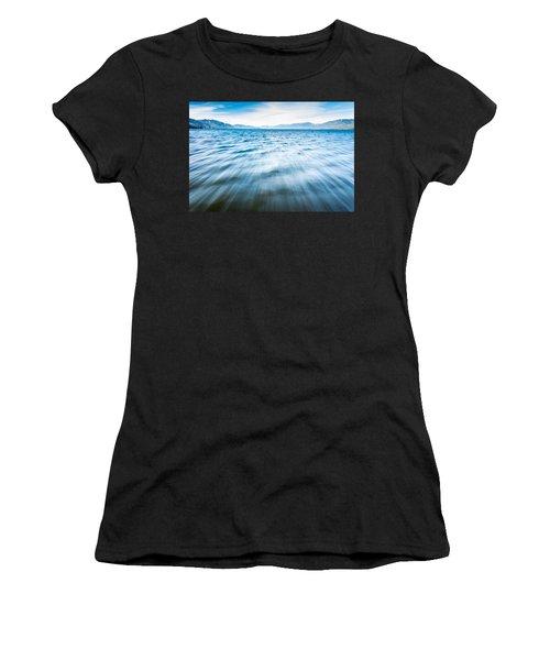 Rushing Away Women's T-Shirt