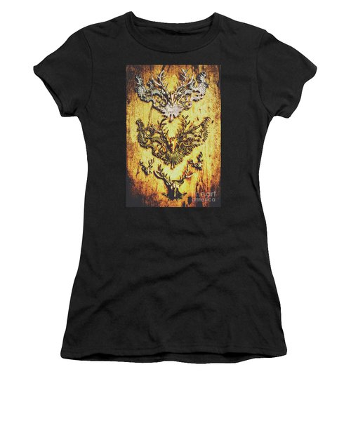 Rustic Country Style Jewels  Women's T-Shirt