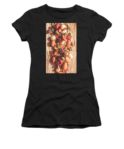 Rustic Dried Fruit And Nut Mix Women's T-Shirt