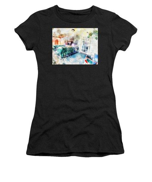 Rustic Look Bedroom Women's T-Shirt