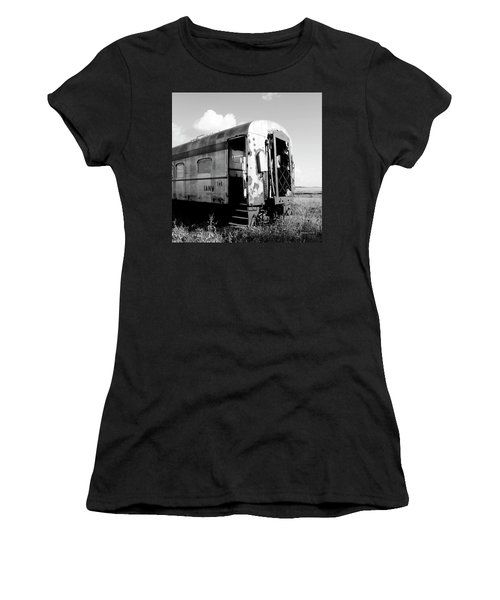 Rusting On The Rails Women's T-Shirt (Athletic Fit)
