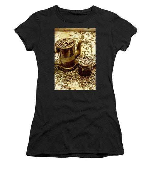 Rusty Old Cafe Still Life Artwork Women's T-Shirt