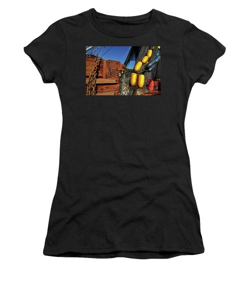 Rusty Shrimping Women's T-Shirt (Athletic Fit)