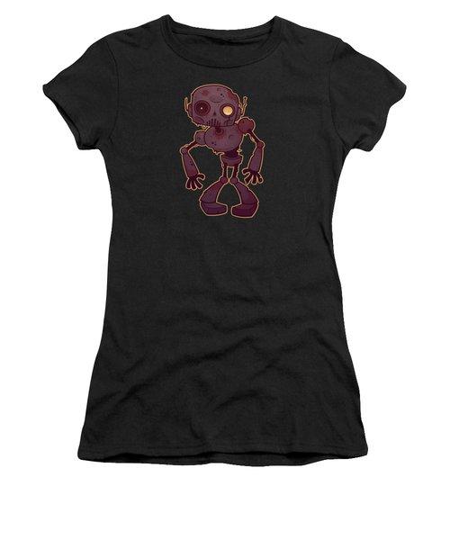 Rusty Zombie Robot Women's T-Shirt