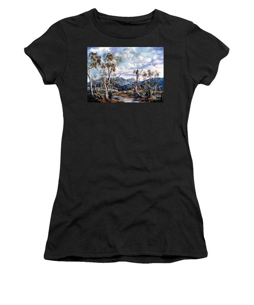 Rwetyepme, Mount Sonda Central Australia Women's T-Shirt