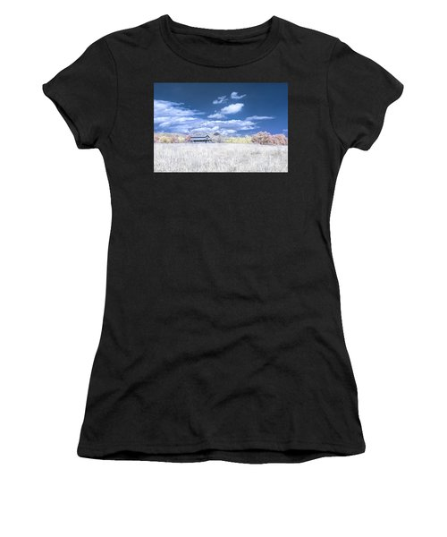 S C Upstate Barn Faux Color Women's T-Shirt