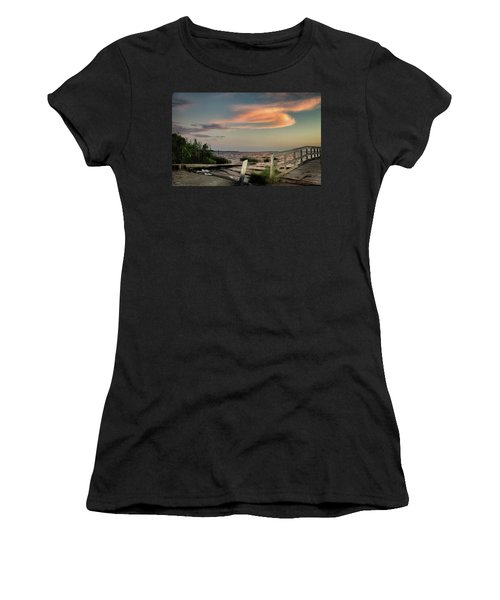 Time Is A River Women's T-Shirt (Athletic Fit)