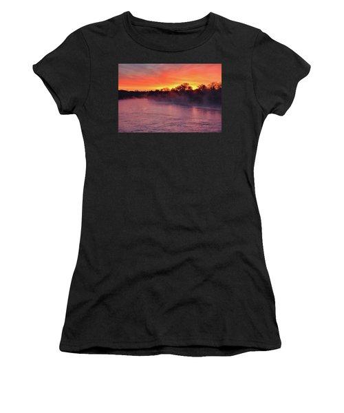 Sacramento River Sunrise Women's T-Shirt