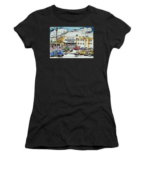 Sacramento Solons Women's T-Shirt (Athletic Fit)