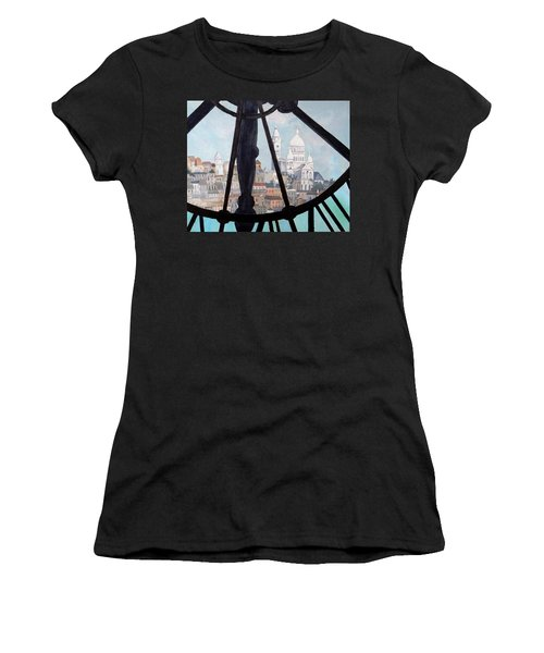 Sacre Coeur From Musee D'orsay Women's T-Shirt (Junior Cut) by Diane Arlitt