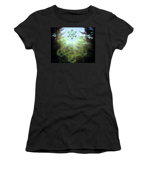 Sacred Forest Event Women's T-Shirt (Athletic Fit)