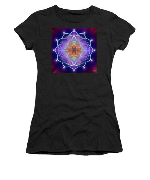 Sacred Geometry 641 Women's T-Shirt (Athletic Fit)